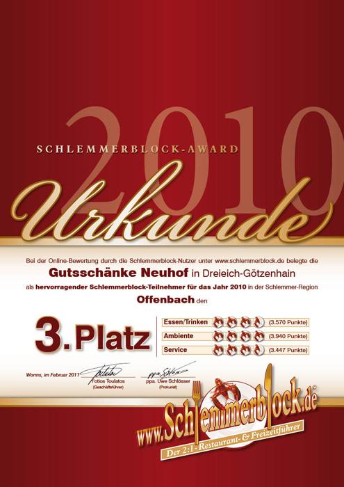 Gutsschänke Neuhof » Offenbach & Umgebung 2018 » Schlemmerblock.de