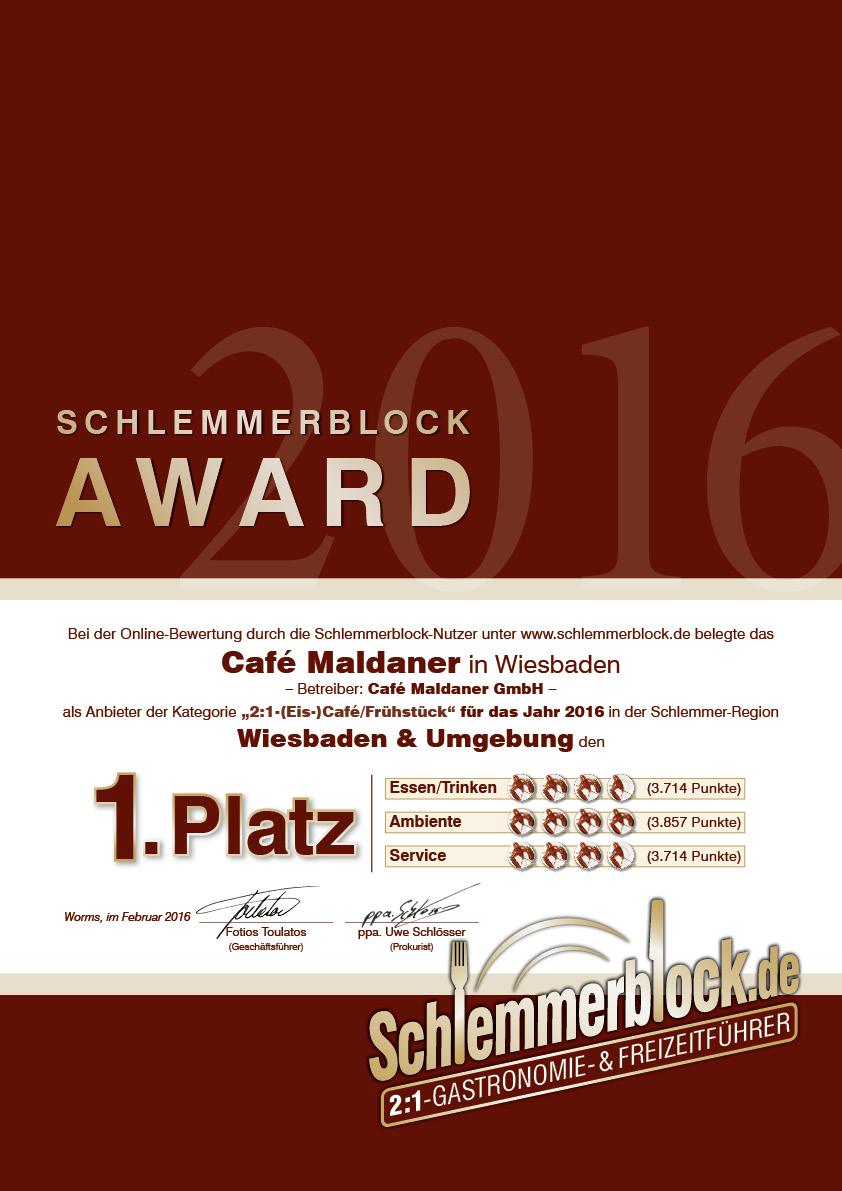 Caf Maldaner Wiesbaden Umgebung 2017 Schlemmerblockde