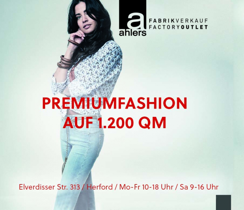 Ahlers Factory Outlet Herford Umgebung 2019